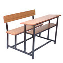 Wooden School Bench