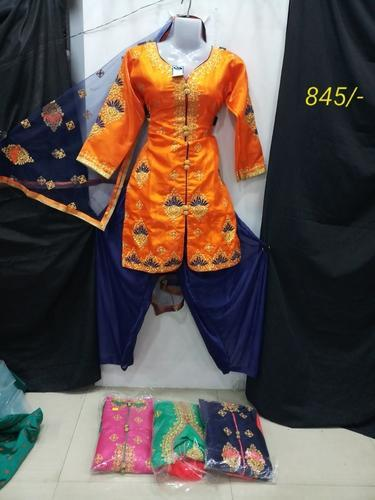 Women Readymade Patiala Suit