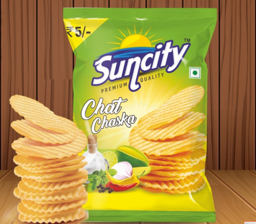 5 Month Suncity Chat Chaska Potato Chips, Packet