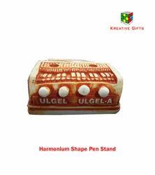 Harmonium Instrument Pen Stand