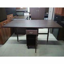 Rectangular 3 Office Wooden Table, Size: 5 Feet
