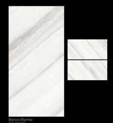Bianco Marmo Digital Glazed Vitrified Tile