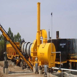 HREDM-45 Mobile Asphalt Drum Mix Plant