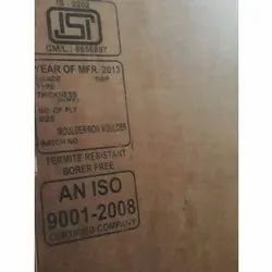 5-ply Boards Flush Door Plywood, Thickness: 20 Mm