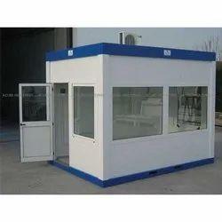 SS Prefab Steel Security Office Cabin