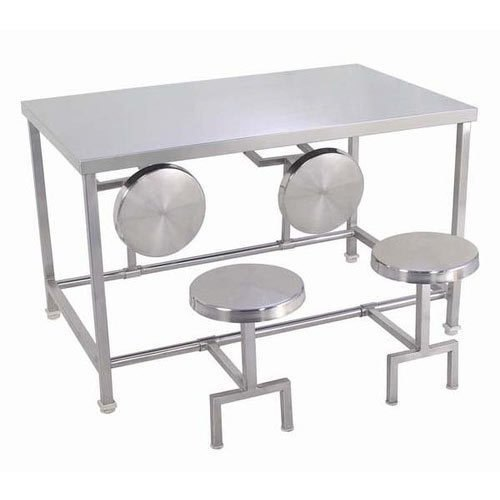 Dining Tables With Folding Stools