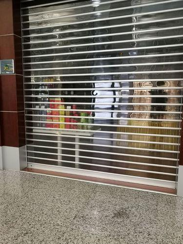 Full Height Polycarbonate Rolling Shutter, Rs 395 /square feet ...