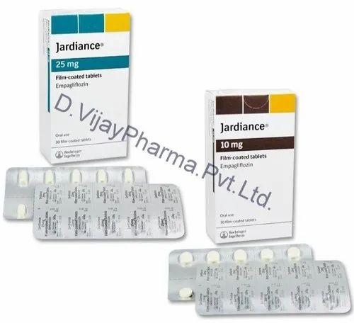 Diabetic Drugs Jardiance 25mg Tablet Wholesaler From Mumbai