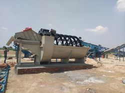 Industrial Bucket Wheel Classifier Sand Washing Plant