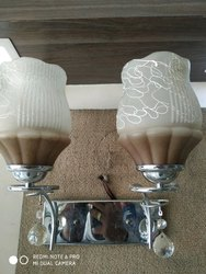 Warm White Metal Wall Lamp