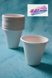 R.S.T White Biodegradable Cups, Capacity: 120 Ml