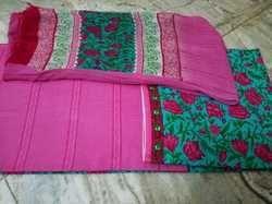 Printed Cotton Fabric Salwar With Dupatta