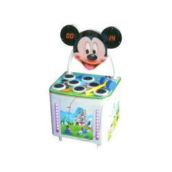 Mickey Playing Hamster Game Machine