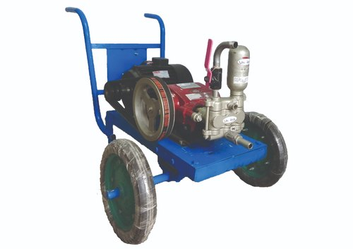 Three Phase Wal-teck Electrical High Pressure Washer, Power: 3 hp