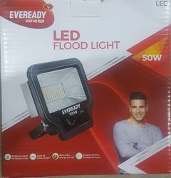 Plastic White Eveready Flood Light, For Outdoor, Industrial Lighting, 50W