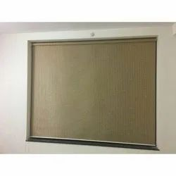 Brown Horizontal Bamboo Roll Up Blind, For Home, Hotel