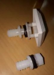 water inlet outlet White Cooler Parts Inlet-Outlet