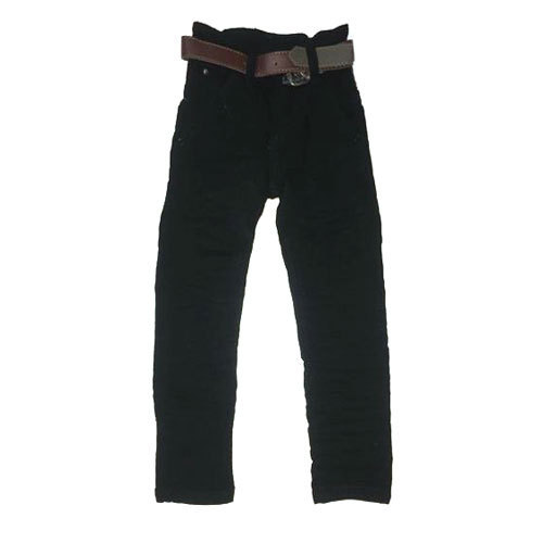 Black Boys Ankle Length Jeans