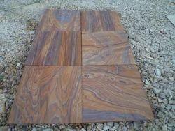 Rainbow Sandstone Paving Slabs, Shape: Rectangular
