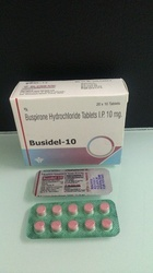 Buspirone Hydrochloride Tablets IP 10 mg