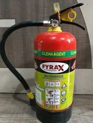4 Kg Clean Agent Type Fire Extinguisher