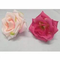 Rose Decoration Plastic Flower, Packaging Size: 20 Piece