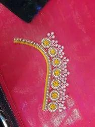 Maggam Works Retailer Of Mirror Work Blouse Bridal Work Blouse From Hyderabad,Simple Wedding Cake Designs