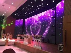 Wedding LED Screen Display Flexible