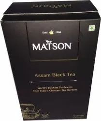 Tea Box with  Silver Pouch (Facility Available)