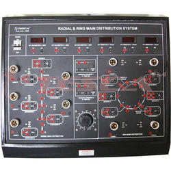 Radial & Ring Main Distribution System Trainer