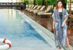 Printed Kimonos Dress