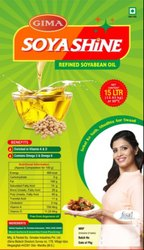 Soyabean Refined Oil (15 kg Tin), Packaging Type: Tin, Tankers & Barrels, Speciality: Rich in Vitamin