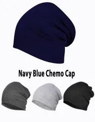 Chemo Navy Blue Beanie Cotton Cap