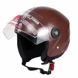 JMD Grand Premium Open Face Helmet (Choclate Brown)