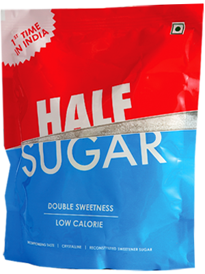 Half Sugar 250 g (Pack of 24)