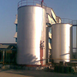 Industrial Fuel Or Oil Storage Tank