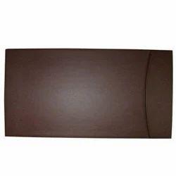 Brown Leather Desk Blotter Pad