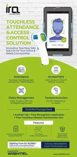 Touchless Attendance & Visitor Management Solutions