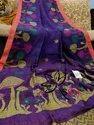Linen Jamdani Sarees