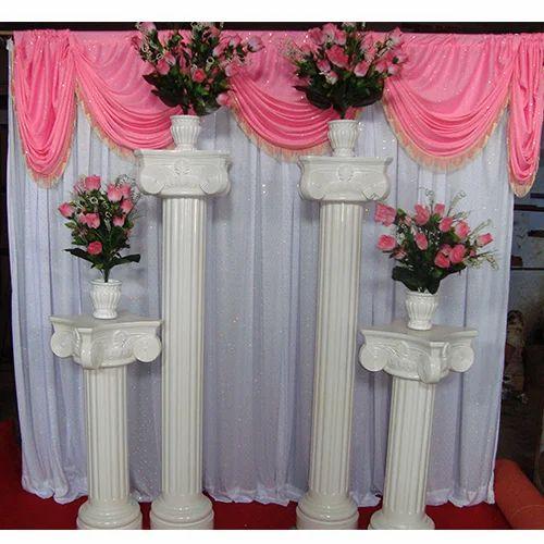 Golden Wedding Pillars At Rs 12000 Piece Wedding Pillar Id