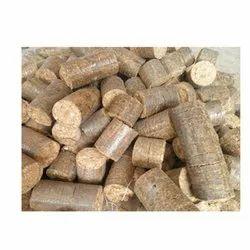 Saw Dust Biomass Fuel Briquette
