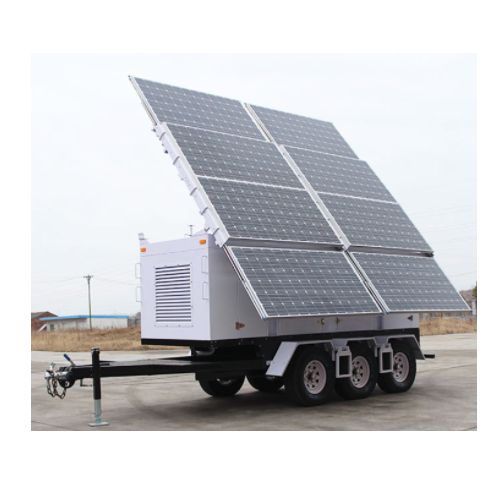 Solar Portable Mobile Lighting Tower