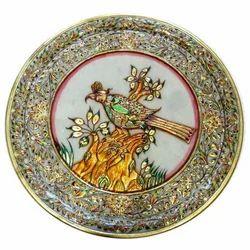 Marble Bird Plate