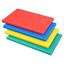Multicolor Plastic 2-Inch Chopping Board