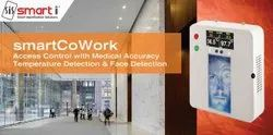 Made In India Contactless Temperature Checking And Face Recognition Attendance System