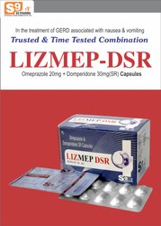 Omeprazole 20mg  Domperidome 30mg DSR