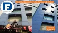 Facade Glass Cleaning