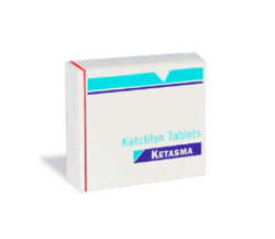 Ketasma 1mg Tablet