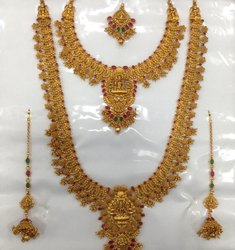 Brass Full Bridal Set