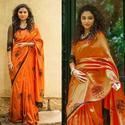 Sana Silk With Multi Work Elephant Design Saree